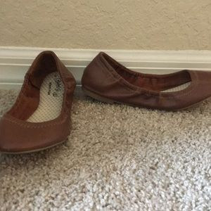 Faded Glory Shoes - Brown Memory foam flats
